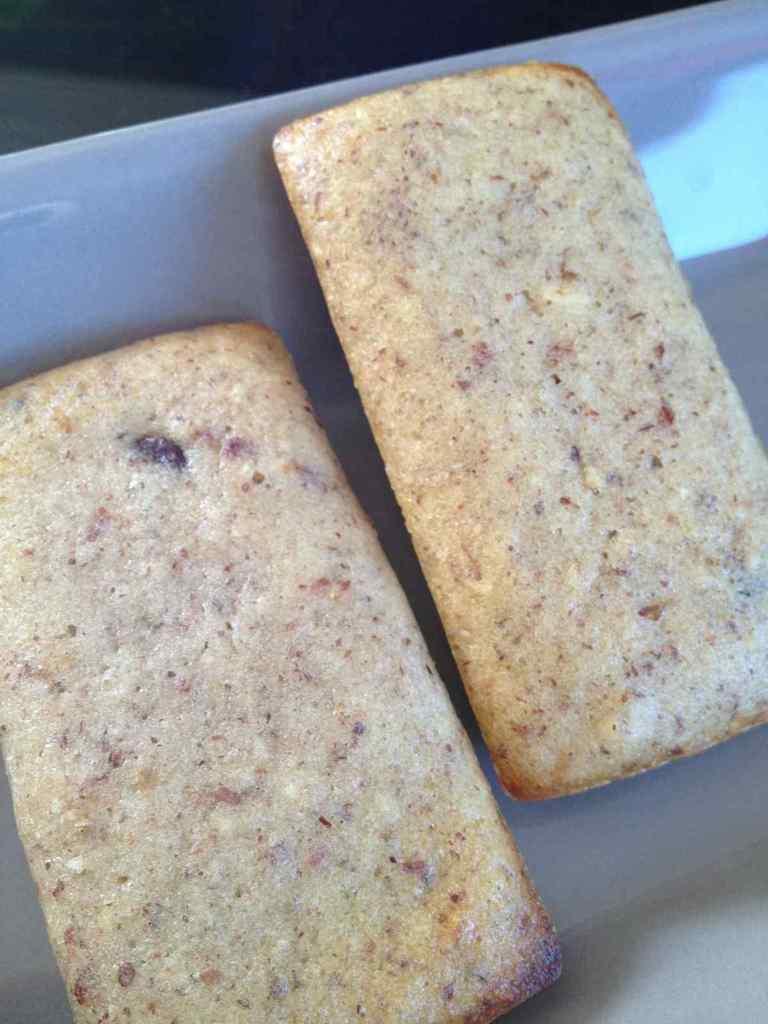 Muffins / Financiers chocolat noisettes