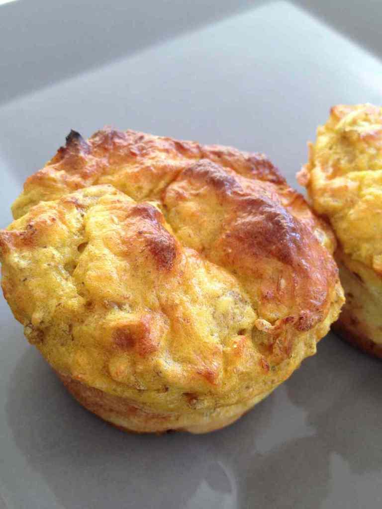 Cake / muffins thon poivron