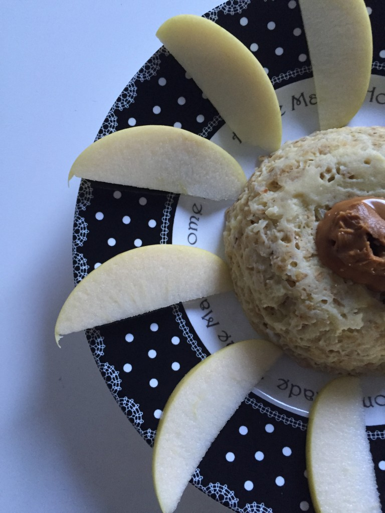 Bowl cake pomme, spéculos