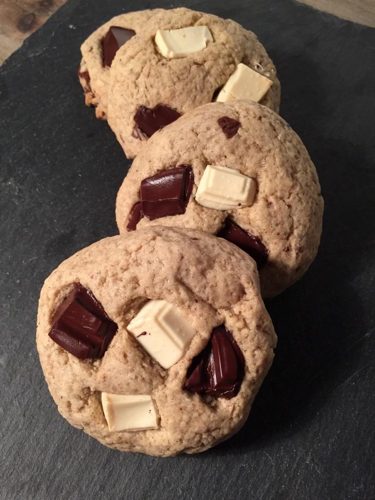 Cookies sans gluten au chocolat