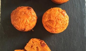 Cake sans gluten carottes chorizo