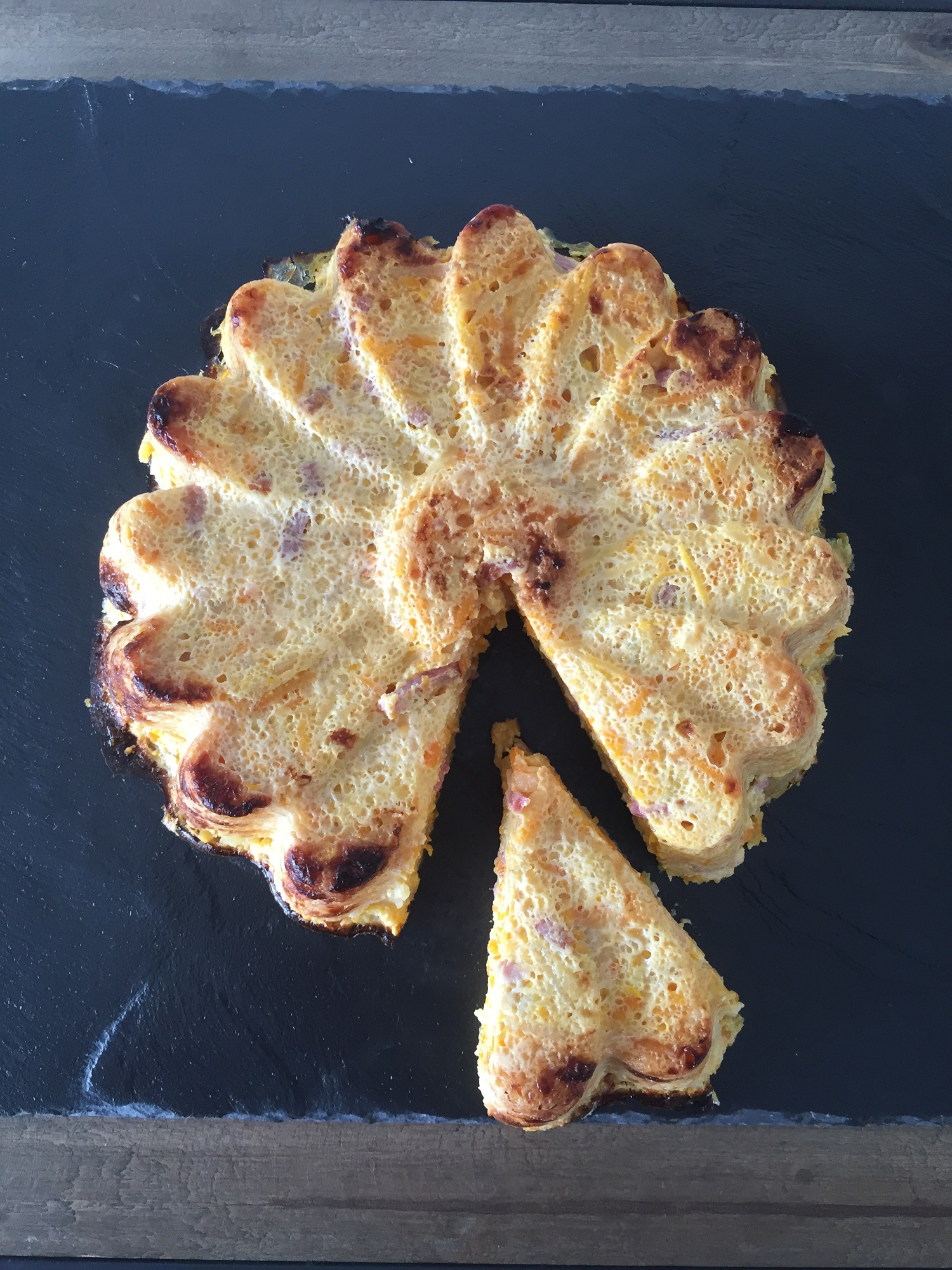 Quiche Sans Pate Legumes Bacon Et Carre Frais Rachel Cuisine