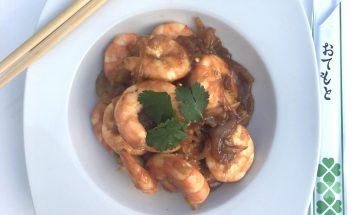Crevettes caramélisées