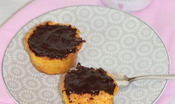 Muffins carottes, amandes et chocolat