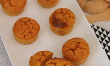 Muffins potiron, bacon