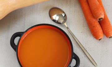 Soupe carottes, Butternut
