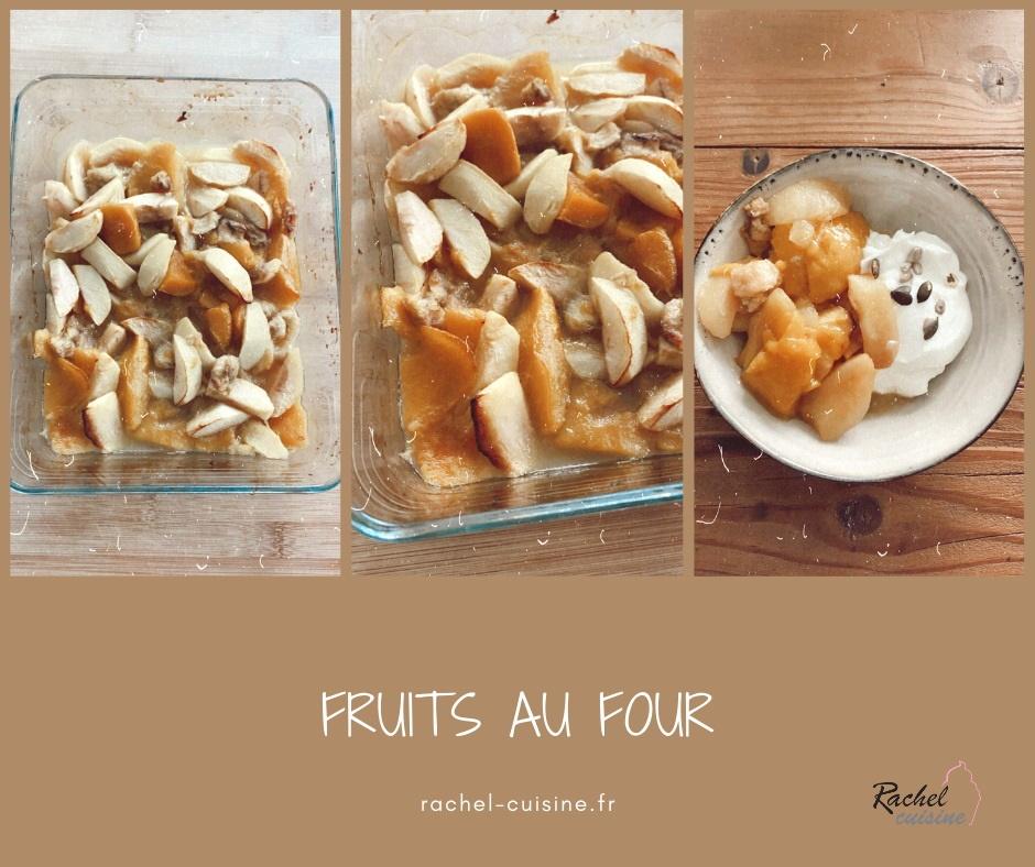 Fruits au four